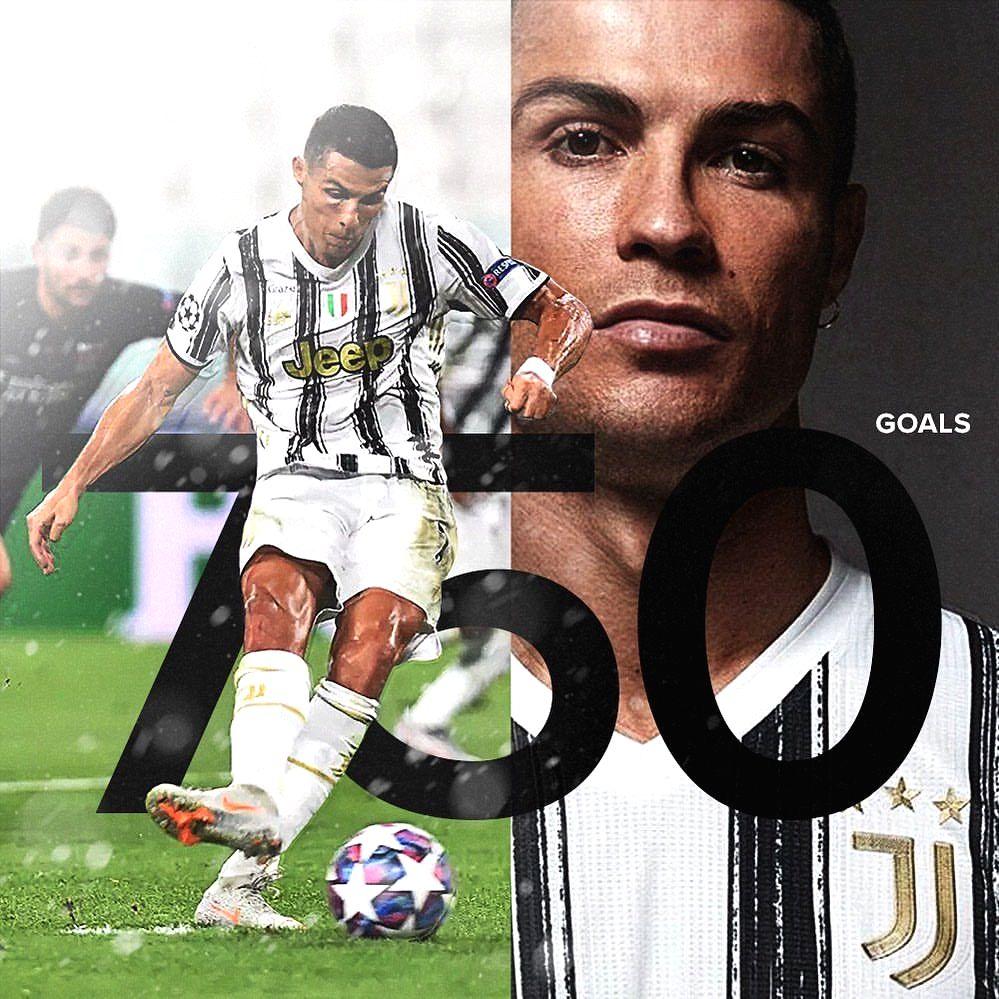 Ronaldo scores 750th career goal as Juventus beat Dynamo Kyiv.