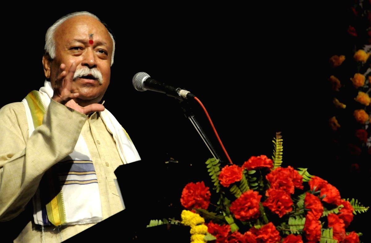 RSS chief Mohan Bhagwat. (File Photo: IANS)