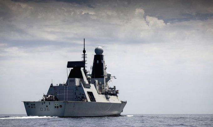 Russia expels British warship HMS Defender for 'violating sea border'.(pic credit: https://twitter.com/HMSDefender)