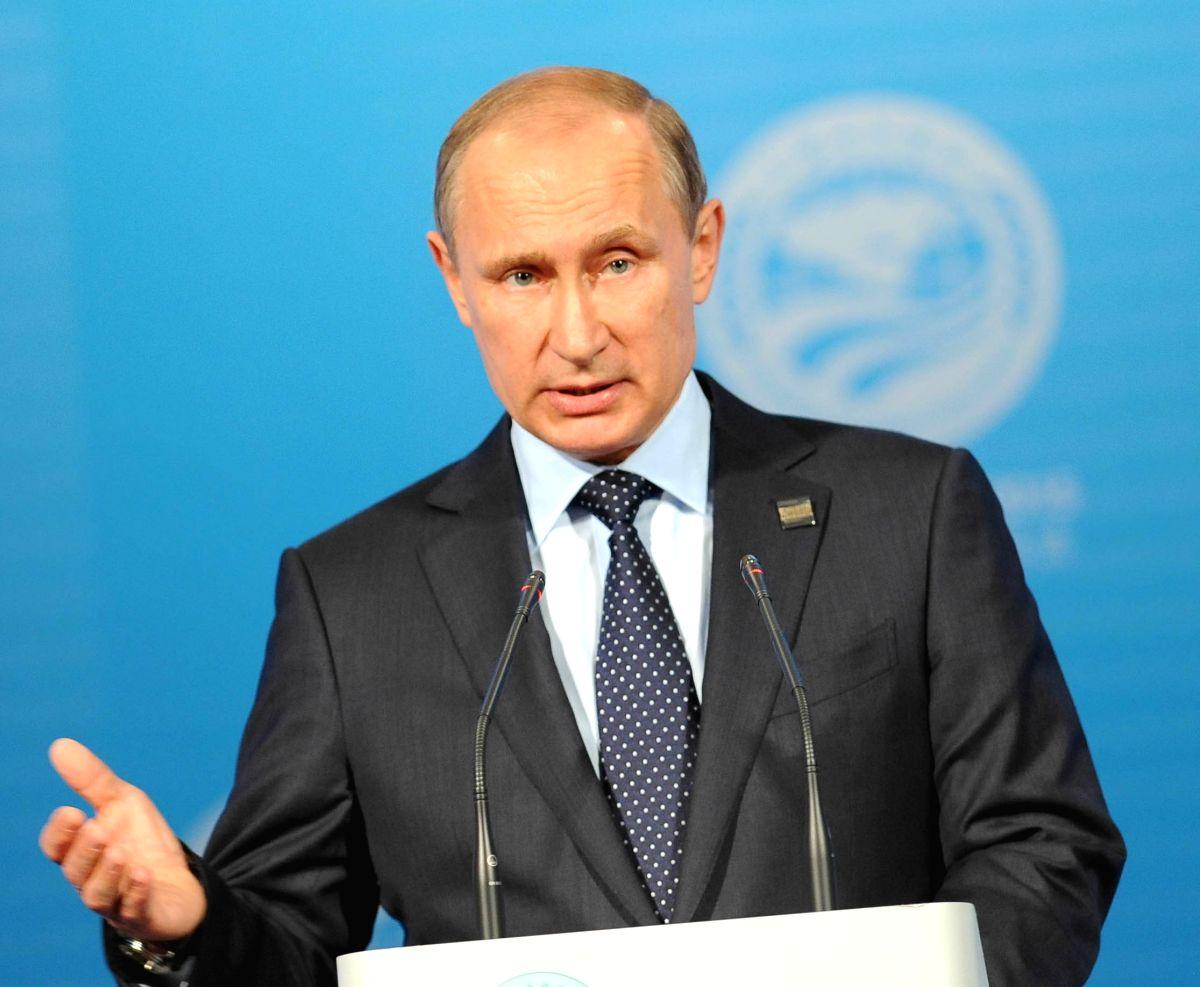 Russian President Vladimir Putin. (Image Source: IANS)