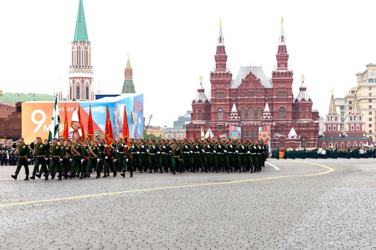 Russias Defence Ministry has started preparing for the Victory Day parade in Moscow and the first rehearsal will take place on June 8, Commander-in-Chief of the Ground Forces General Oleg Salyukov said on Friday. (File Photo: Xinhua/Bai Xueqi/IANS)
