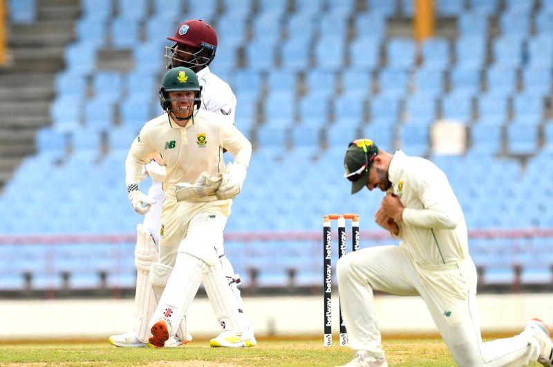 SA's Mulder grabs three as West Indies lose initiative.
