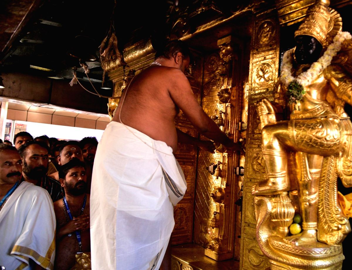 Sabarimala temple.