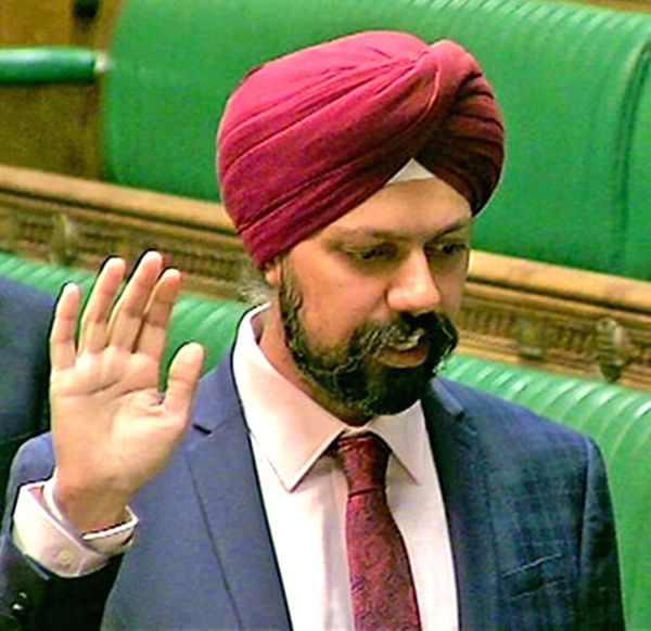 Sad to see clashes in Delhi: British MP Dhesi