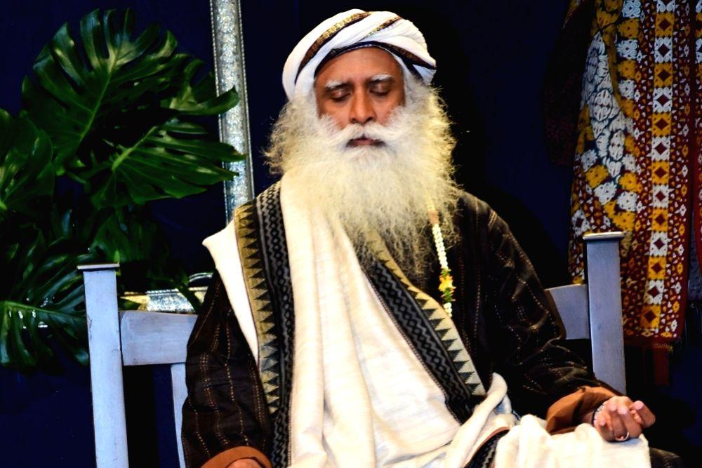 Sadhguru Jaggi Vasudev. (Image Source: IANS)