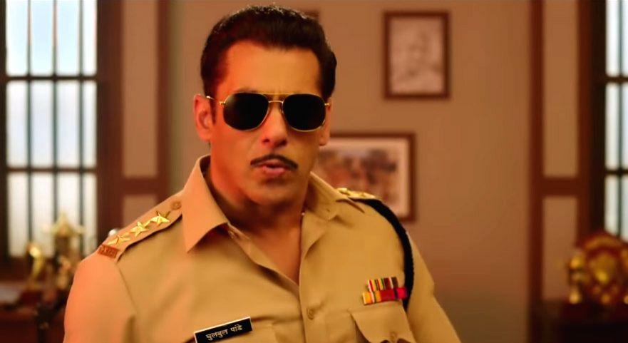 "Salman Khan is Chulbul Pandey in  ""Dabangg 3"""
