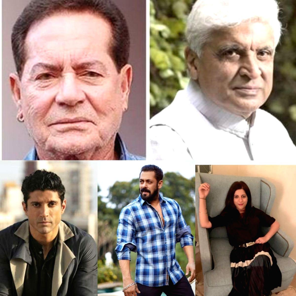 Salman Khan, Zoya and Farhan Akhtar among producers of Salim-Javed docu-film 'Angry Young Men'