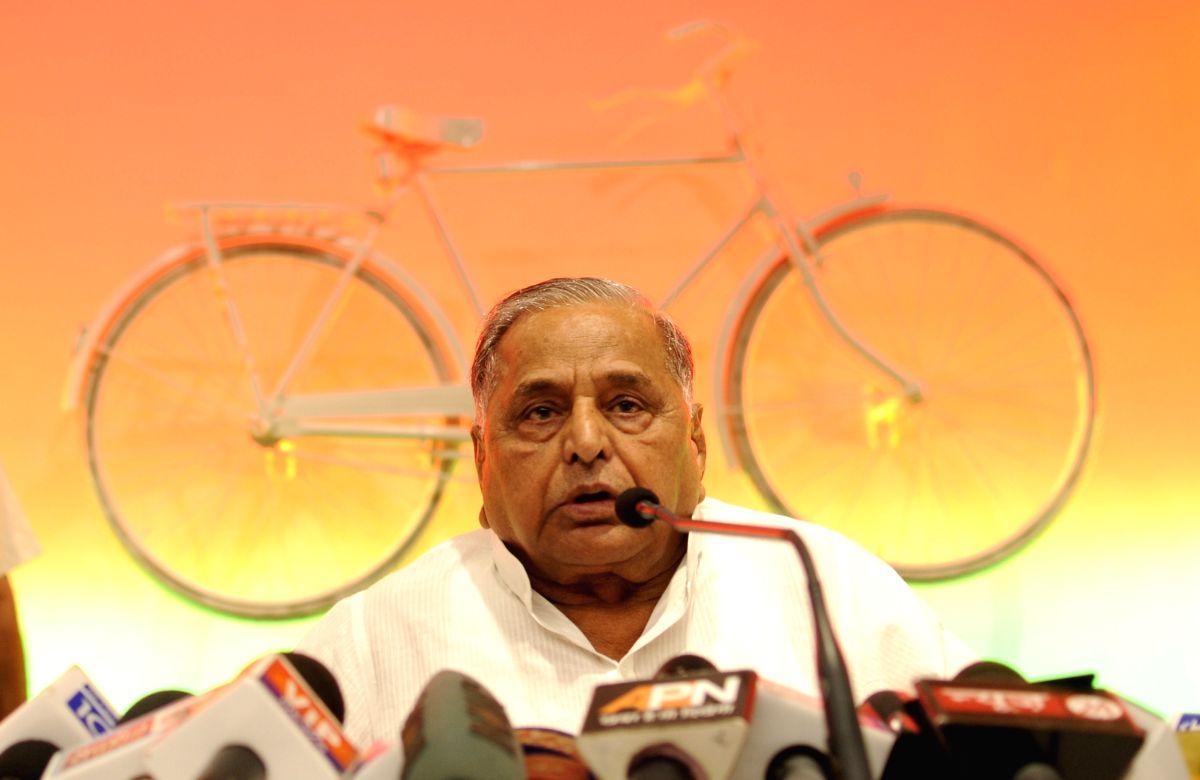 Samajwadi Party chief Mulayam Singh Yadav. (File Photo: IANS)