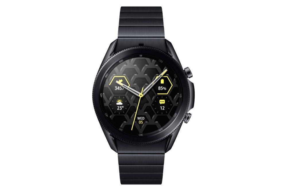 Samsung announces titanium model of Galaxy Watch3