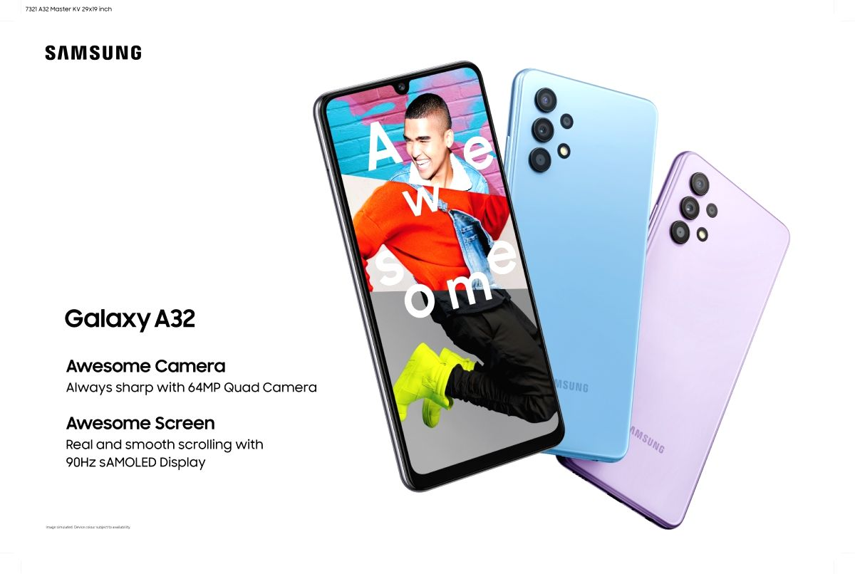 Samsung Galaxy A32 with 64MP quad camera now in India.