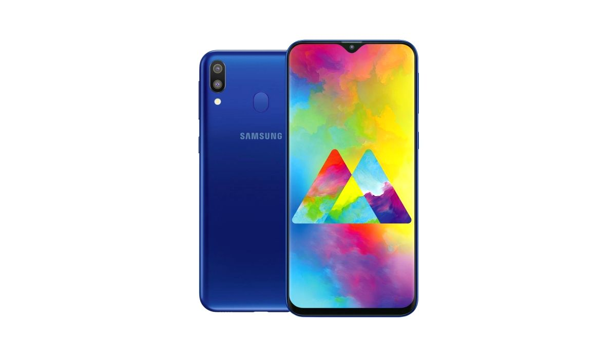 Samsung Galaxy smartphone.