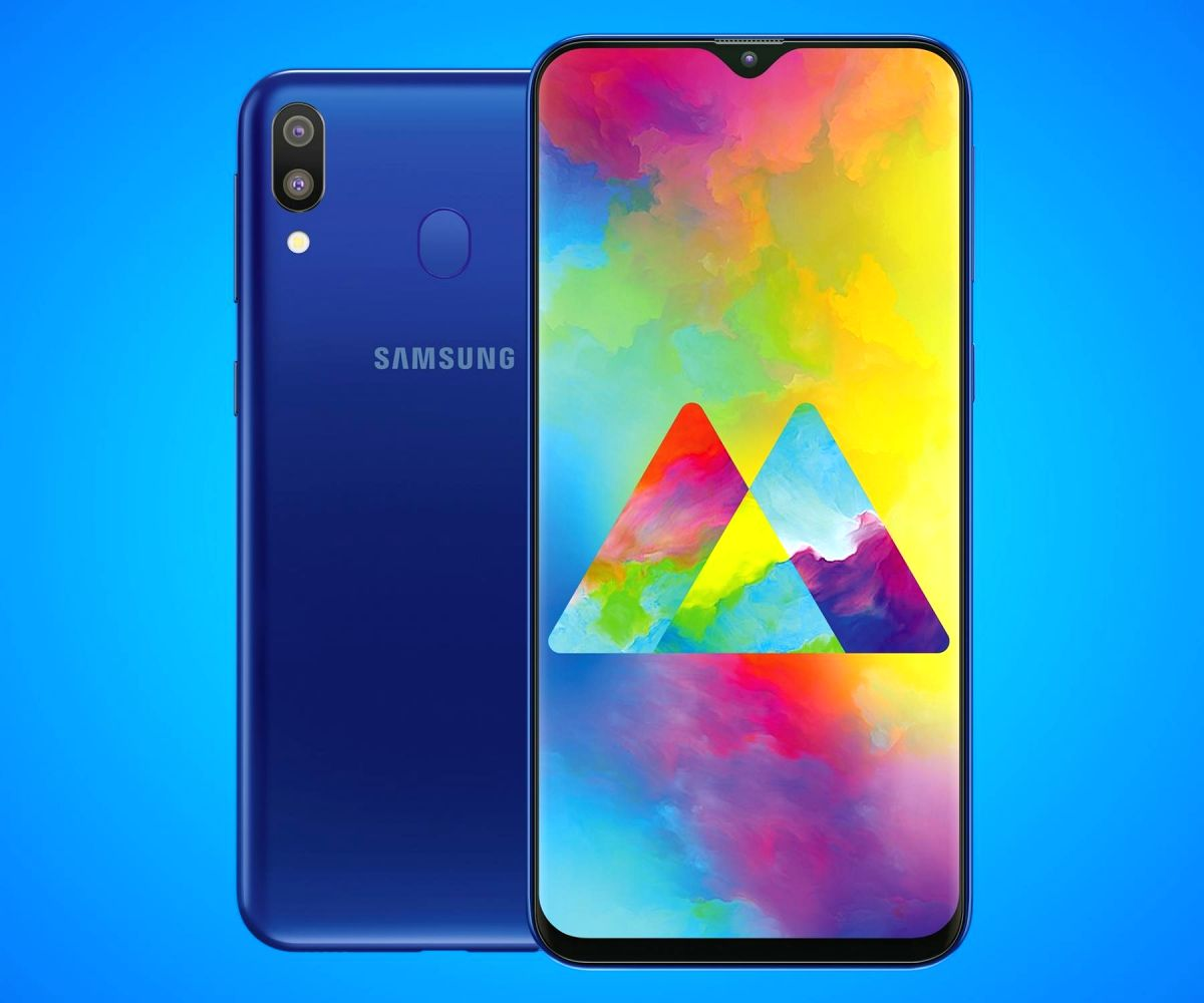 Samsung Galaxy M20 smartphone.