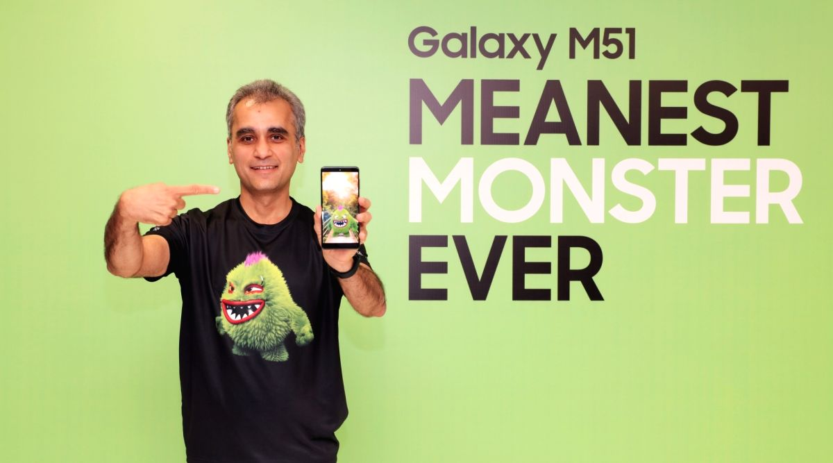 Samsung Galaxy M51 with 'Monster' 7000mAh battery launched in India.