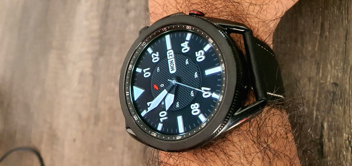 Samsung Galaxy Watch3 comes in two dial sizes -- 41mm and 45mm -- and is packed with health and fitness features.