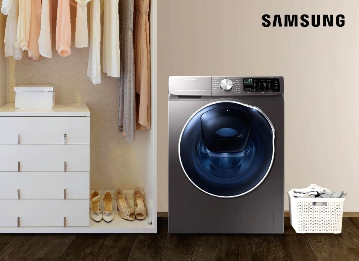 Samsung launches new range of AI washing machines with Q-Rator technology.