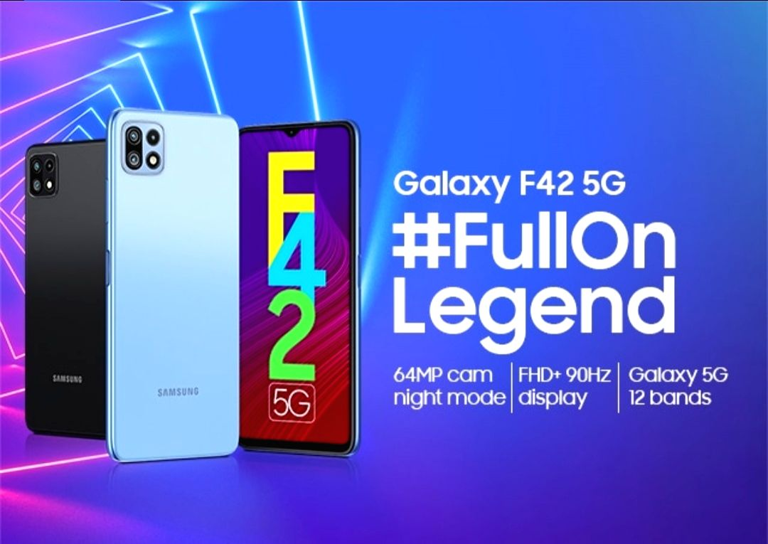 Samsung to launch Galaxy F42 5G on September 29.