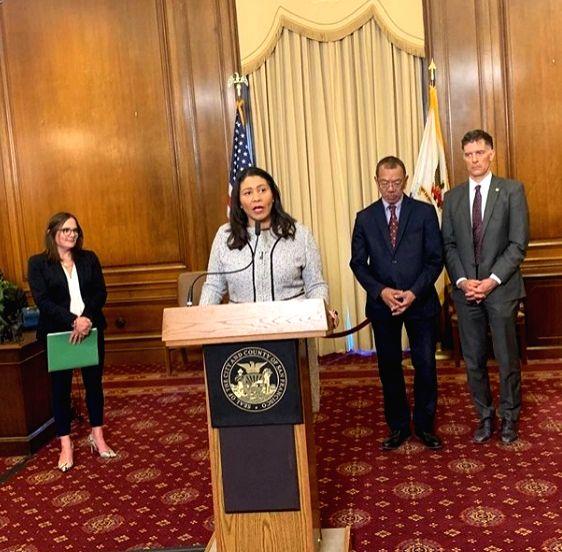 San Francisco unveils efforts for safe voting