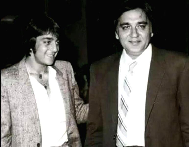 Sanjay Dutt remembers dad Sunil Dutt on 15th death anniversary.