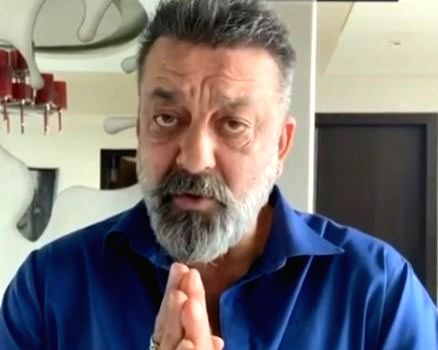 Sanjay Dutt urges citizens to stay at home.