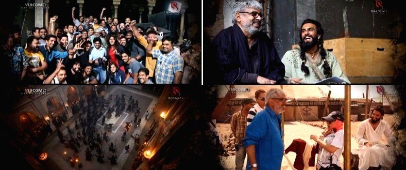 Sanjay Leela Bhansali shares unseen footage as 'Padmaavat' turns 3(credit:Instagram/@bhansaliproductions)