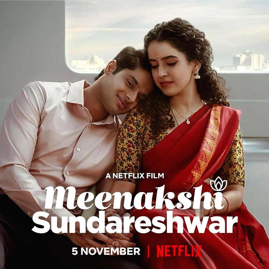 Sanya Malhotra starrer 'Meenakshi Sundareshwar' releases on Nov 5. (Credit : Instagram)