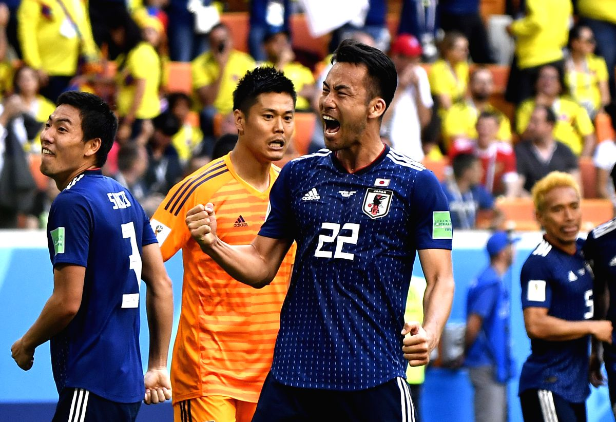 Japan was victorious against Columbia with 2-1 score. This was the first time any Asian country has defeated a South American opposition.