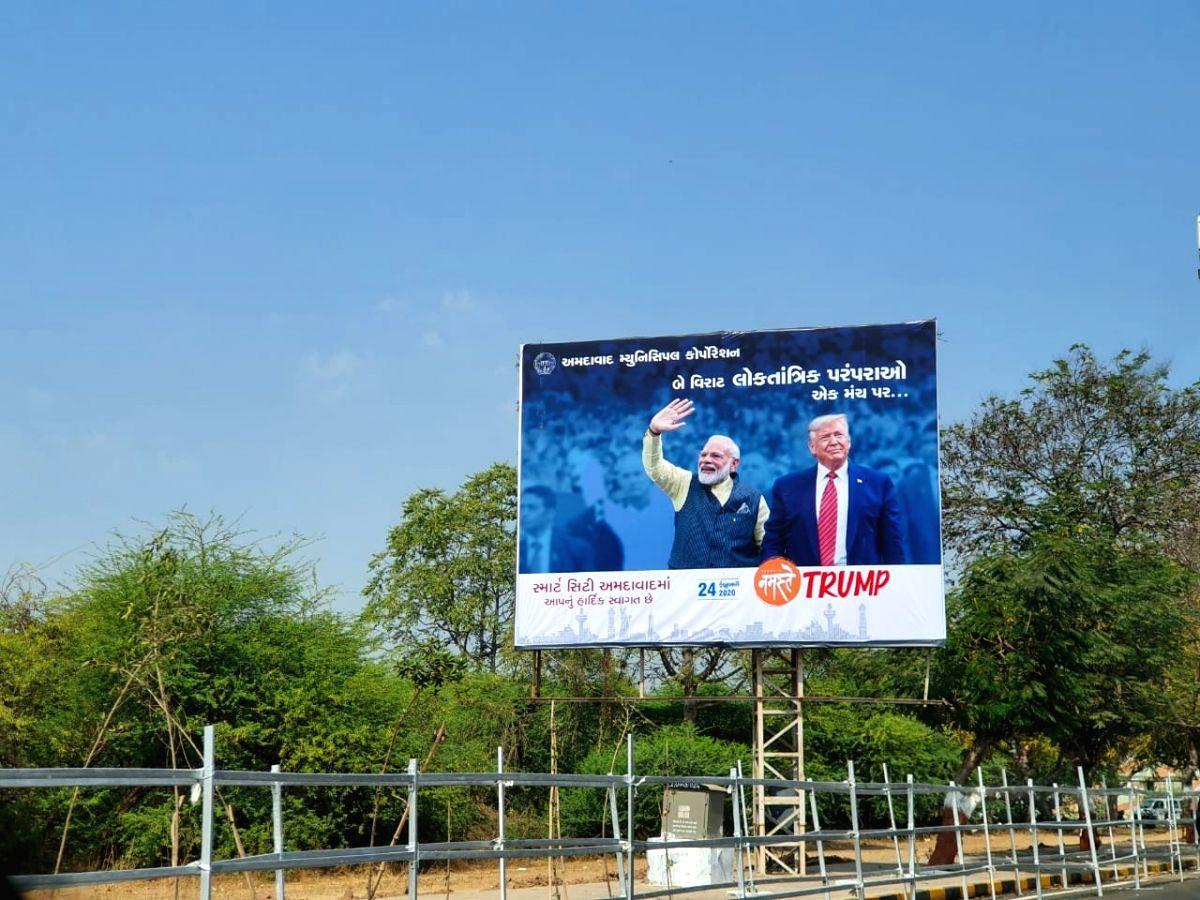 Sarpanchs, govt teachers crowd managers for 'Namaste Trump'
