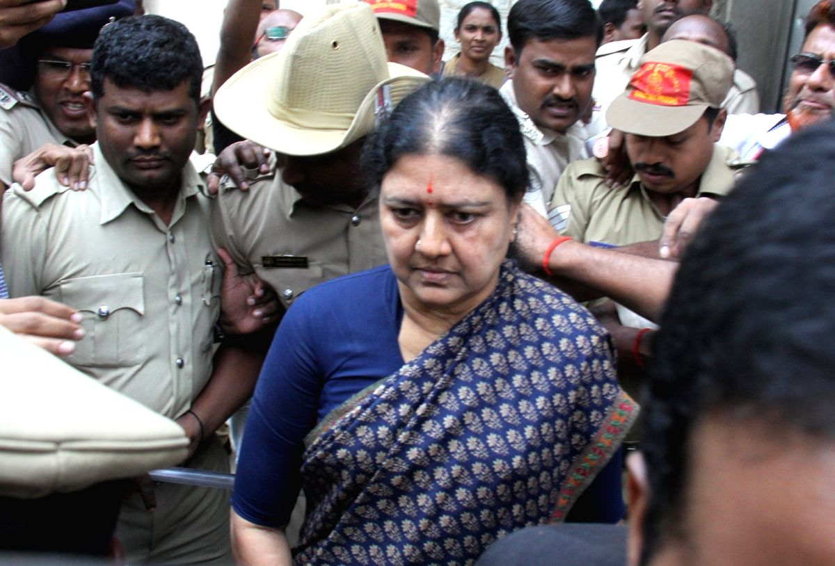 Sasikala's probable date of release is Jan 27, 2021: Bangalore Central Prison.