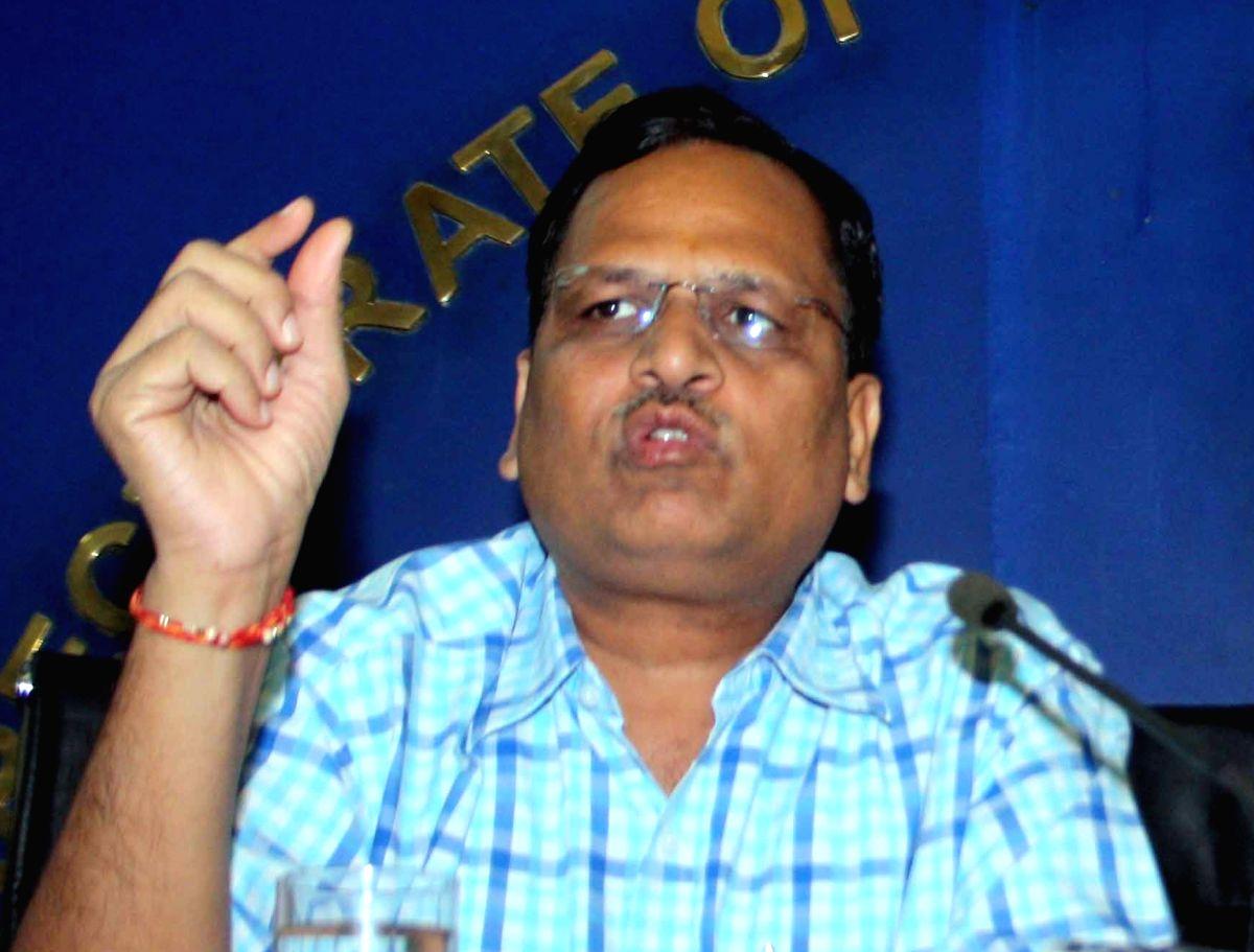 Satyendra Jain. (Image Source: IANS)