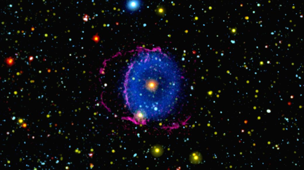 Scientists solve 16-year-old Blue Ring Nebula mystery.