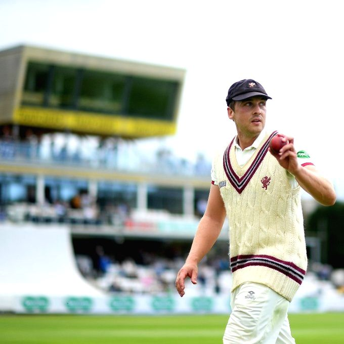 Scotland's Josh Davey extends contract with Somerset till 2023.(photo:Twitter)
