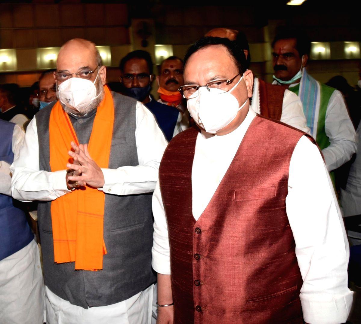 Shah, Nadda meet WB leaders to shortlist candidates