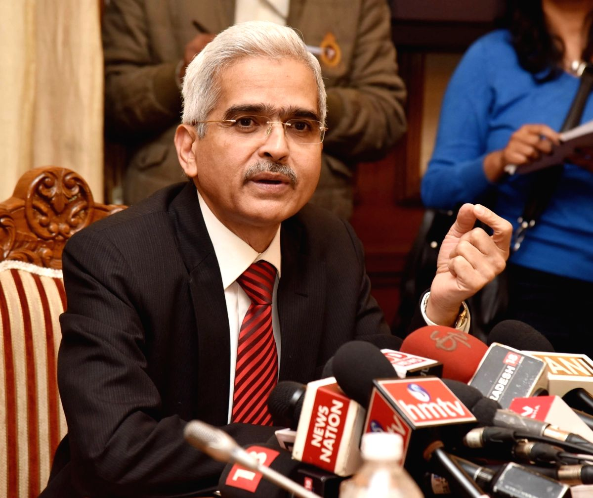 Shaktikanta Das. (File Photo: IANS)