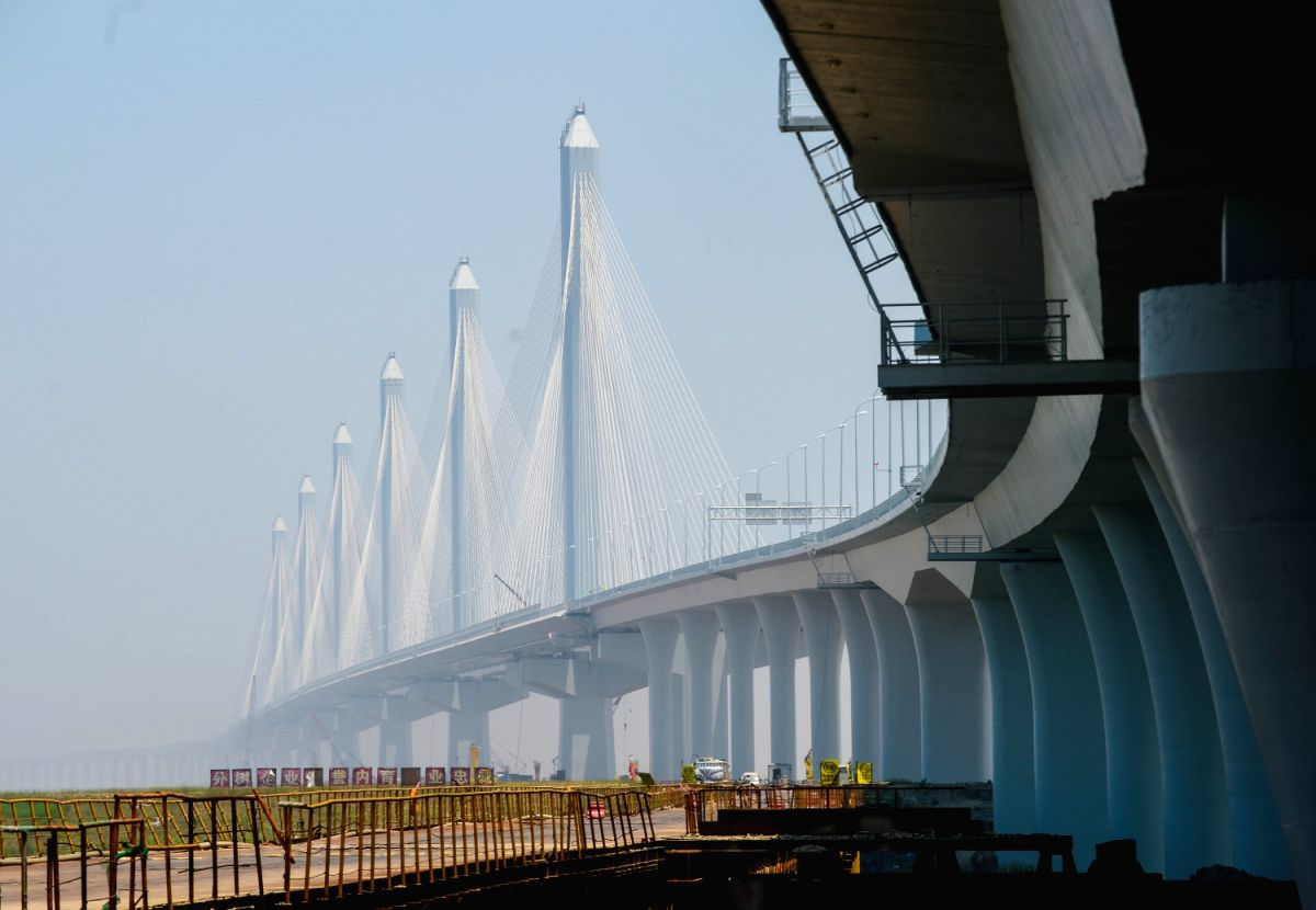 Jiaxing Shaoxing Sea- Crossing Bridge