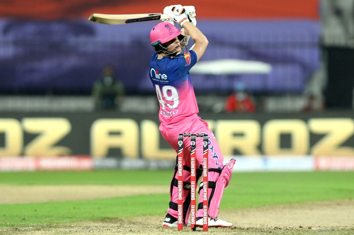 Sharjah: Steve Smith captain of Rajasthan Royals play a shot during match 9 of season 13 of the Indian Premier League (IPL) between Rajasthan Royals and Kings XI Punjab held at the Sharjah Cricket Stadium, Sharjah in the United Arab Emirates on the 2