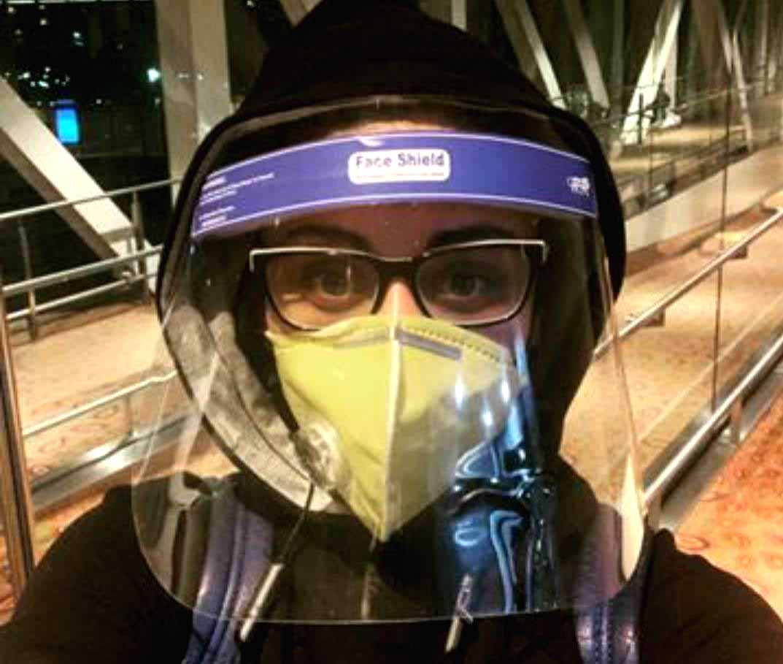 Shefali Jariwala on her flying experience amid pandemic.