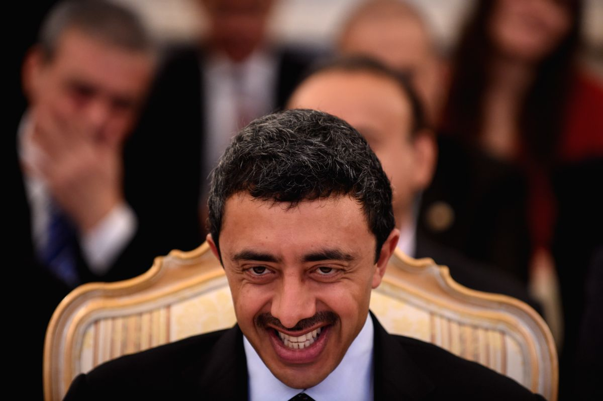 Sheikh Abdullah bin Zayed Al Nahyan. (Xinhua/Dai Tianfang/IANS)