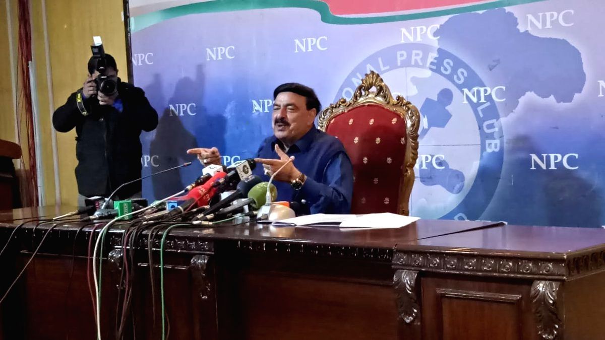 Sheikh Rasheed Ahmed. (Photo: Twitter/@ShkhRasheed)