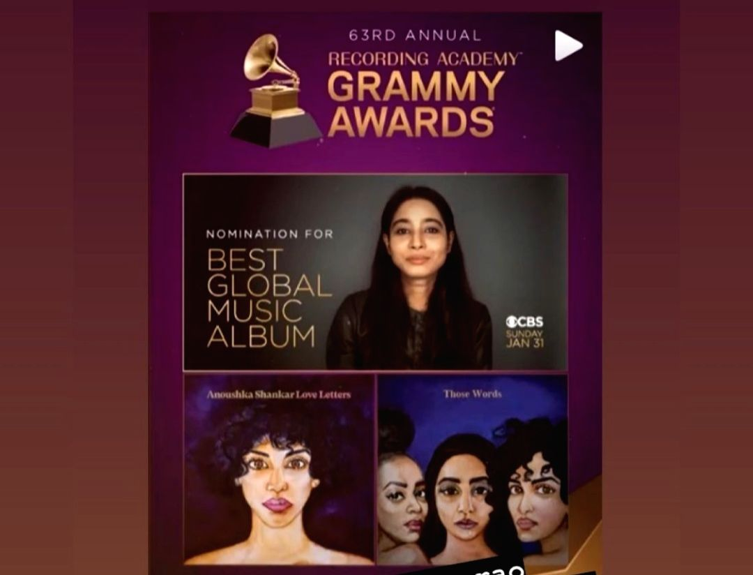 Shilpa Rao thrilled about collaboration with Anoushka Shankar getting Grammy nod.