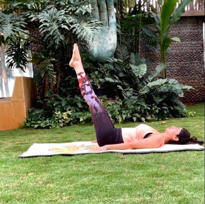 Shilpa Shetty shares a yoga asana to cure digestive troubles