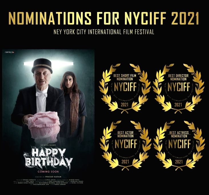 Short film 'Happy Birthday' bags nominations at NY film fest.(photo:instagram)