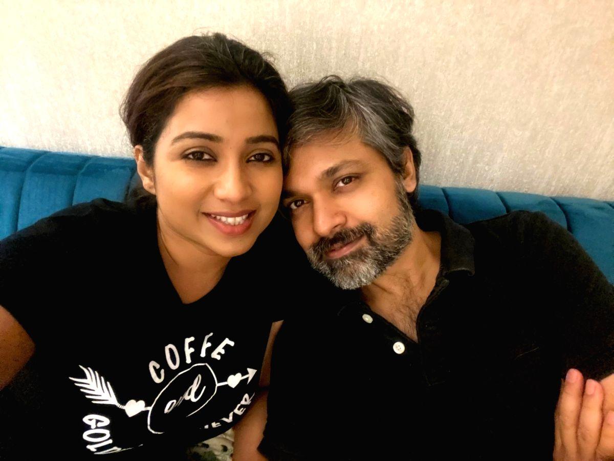 Shreya Ghoshal with her husband