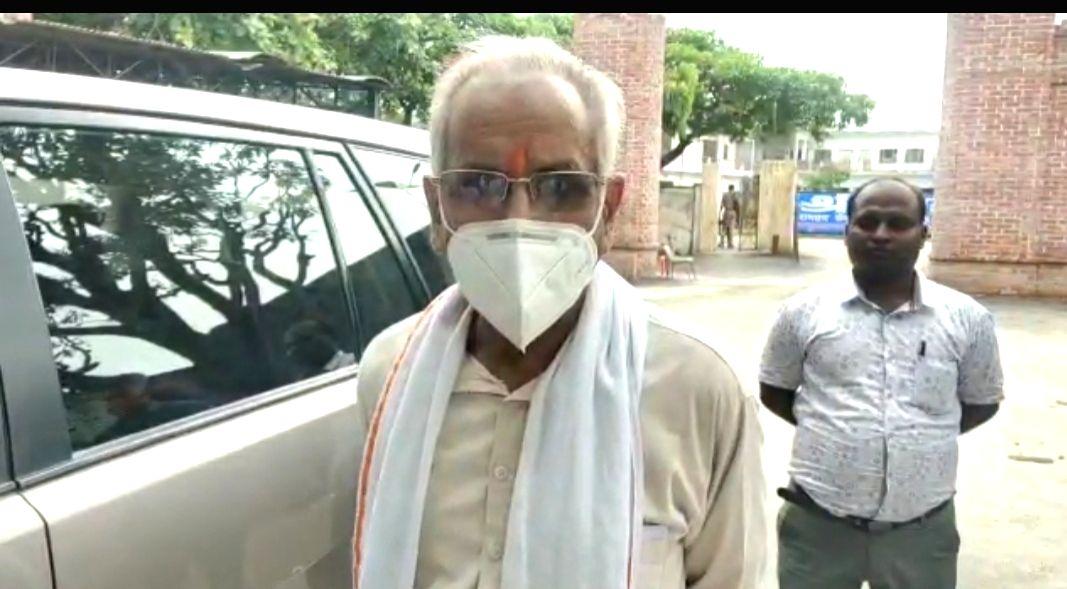 Shri Ram Janmabhoomi Teerth Kshetra Trust Secretary Champat Rai.