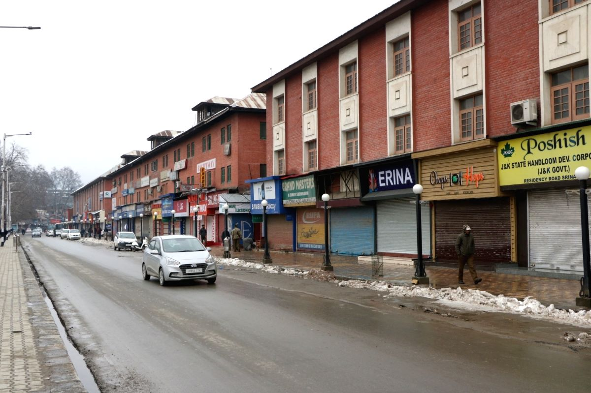 Shutdown in Srinagar