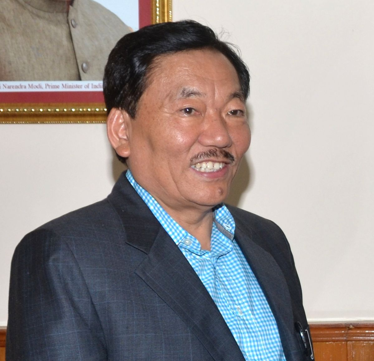 Sikkim Chief Minister Pawan Kumar Chamling. (File Photo: IANS)