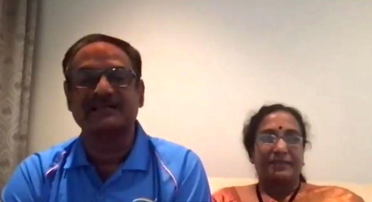Sindhu's parents overjoyed, proud on Olympic glory.