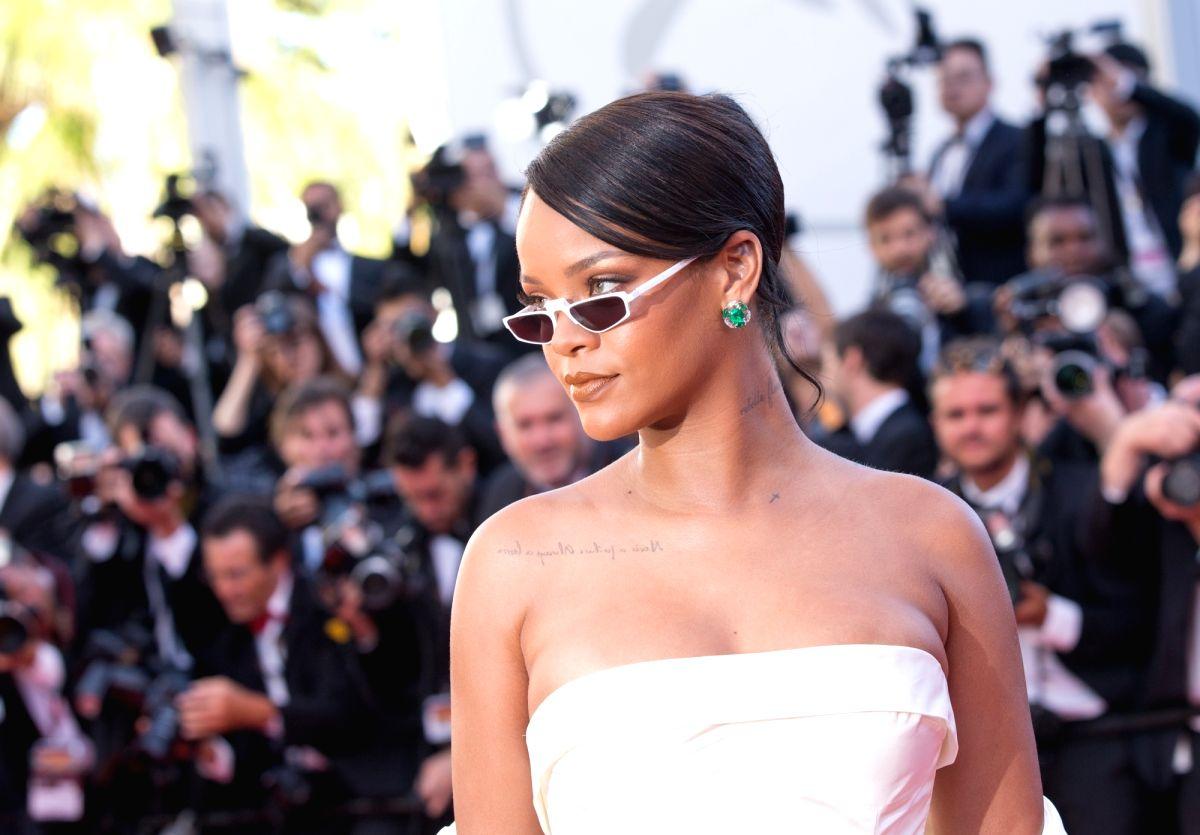 Singer Rihanna. (Xinhua/Xu Jinquan/IANS)