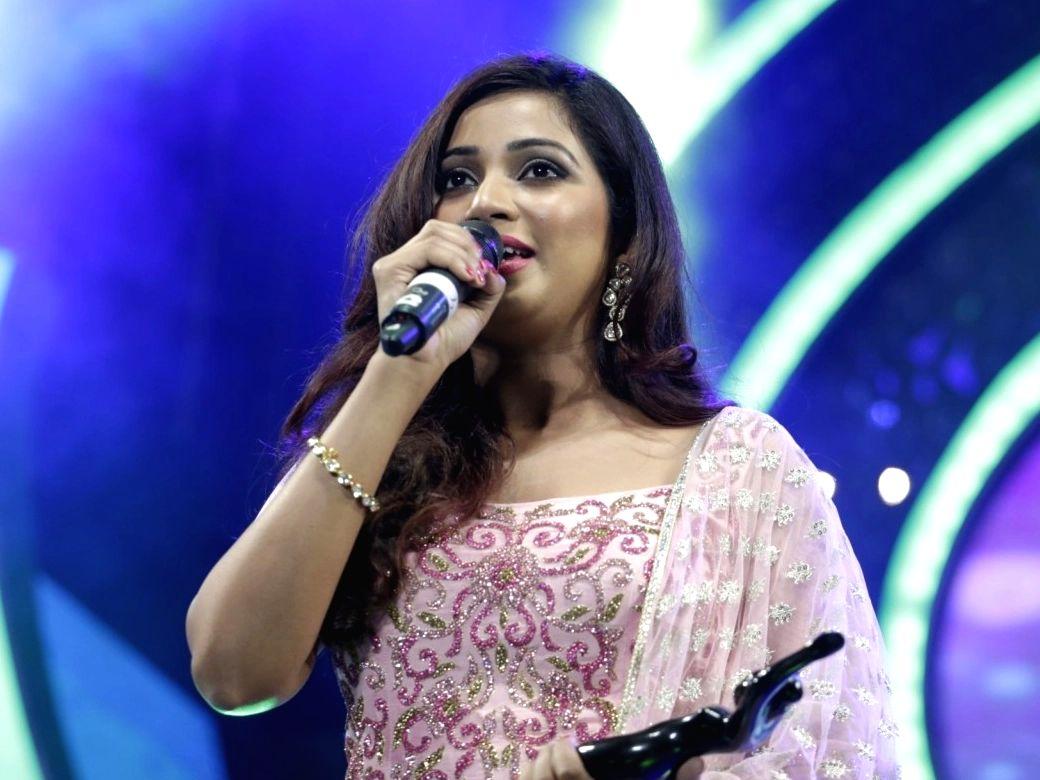 Singer Shreya Ghoshal