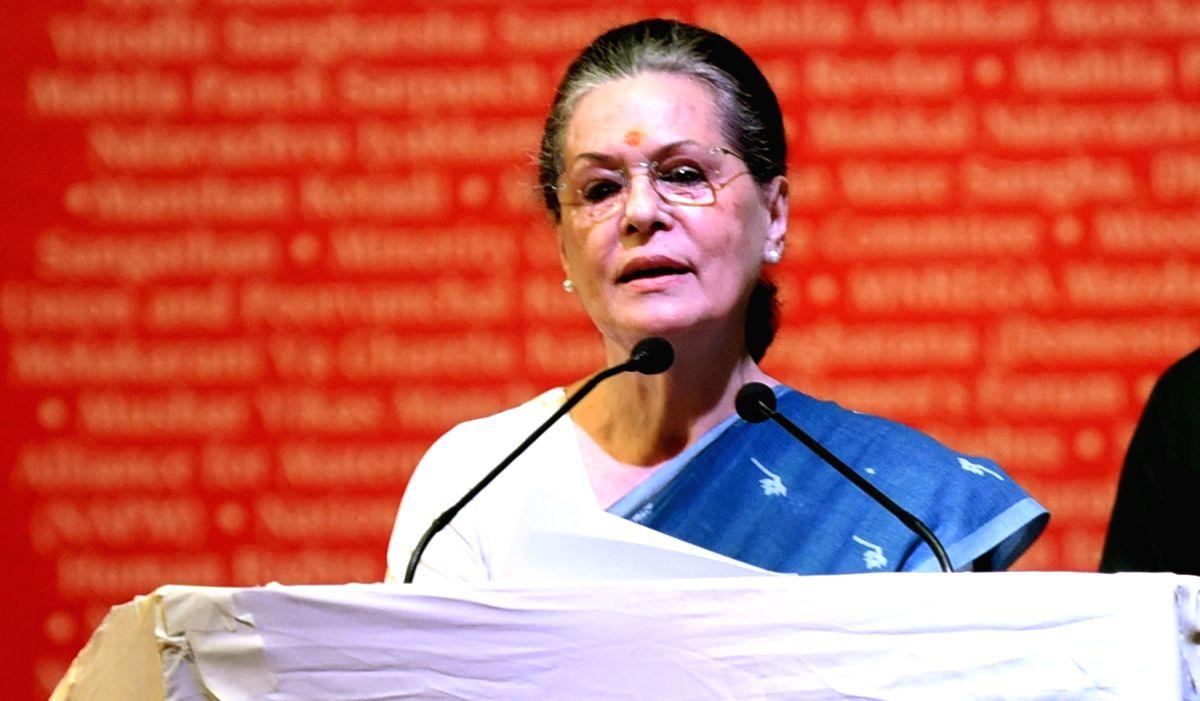 Sonia Gandhi. (Image Source: IANS)