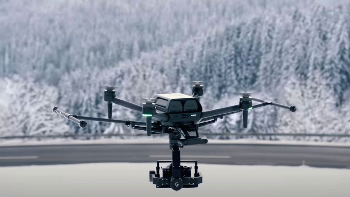 Sony showcases world's smallest drone Airpeak